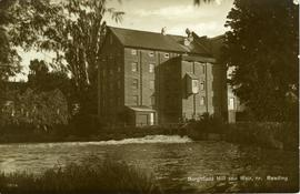 """Burghfield Mill and Weir, nr. Reading"""