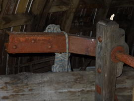 Brake lever, tower mill, Great Bircham