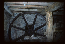 Venton Mill, Dartington, Devon, pit wheel
