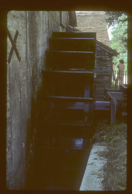 Waterwheel, Mapledurham Mill, Mapledurham, Berkshire