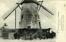 """A mill transformed into a field-hospital near Antwerp"""