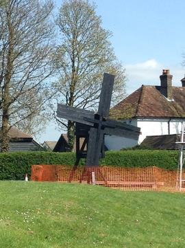 Model windmill, High Salvington, Sussex