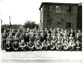 Group photograph of employees