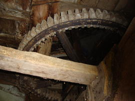 Great spur wheel, Hitchcock's Tower Mill, Rattlesden