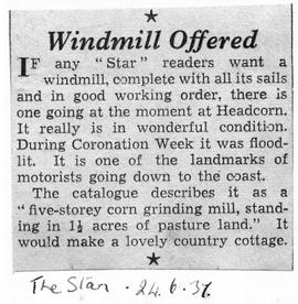 """Windmill Offered"""