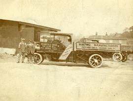 Steam lorry of Hearfield Bros., Cliff Mill, Hessle