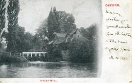 """Iffley Mill                    Oxford"""