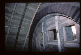 Berkswell windmill, Warwickshire, cast iron gear