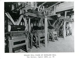 Roller Mill Floor at Buckland Mill, The Miller, April 1895, p. 79