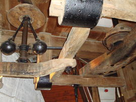 Governor and tentering gear, Marsh Mill, Thornton