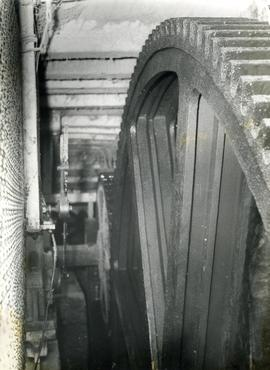 Sonning  Mill - large spur wheel