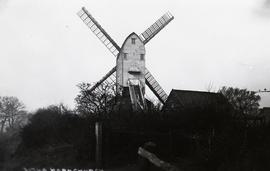 """Windmill at Hornchurch, Essex - copy negative"""