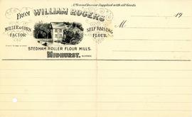 Invoice from Stedham Roller Flour Mills