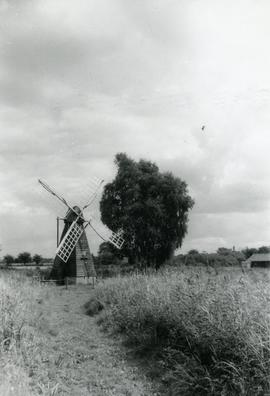 Wicken Fen Mill, Cambridgeshire, England