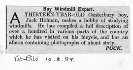 """Boy Windmill Expert"""