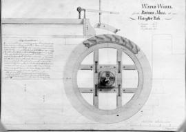 Water Wheel for the Powder Mill at Worcester Park