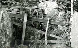 Small Welsh water mill