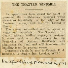 """The Thaxted windmill"""