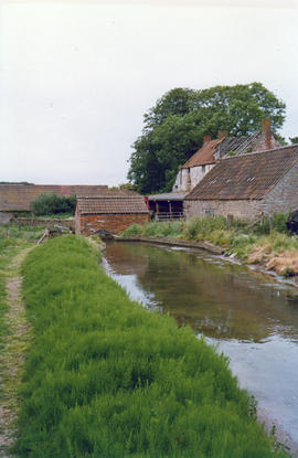 Watercress Farm, Wraxall - leat to pump house