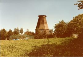 Conserved smock mill, Beacon Mill, Benenden, Kent