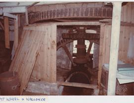 Hampshire, Waltham Chase Mill, pit wheel and wallower