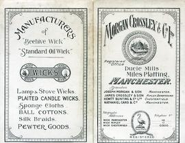 Cover of flyer for Morgan Crossley and Co Ltd