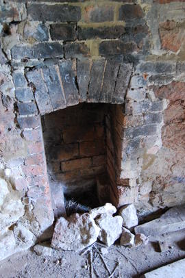 Fireplace, tower mill, Upper Tysoe