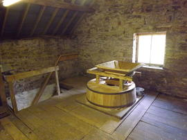 Watermill, Olchon House, Llanveynoe, Herefordshire, interior
