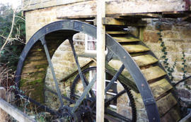 Nankelly Mill, St Columb Major -  Oatey & Martyn waterwheel