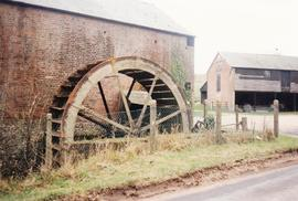 Roke Farm Wheel, Bere Regis, Dorset, waterwheel