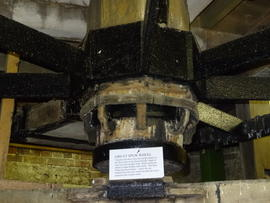 Great spur wheel mounting, New Mill, Rottingdean