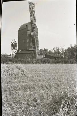 """Stanton post mill, Suffolk"""