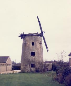 Derelict tower mill, North Leigh, Oxfordshire