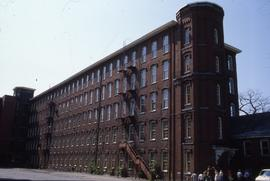 """Lowell, USA, Steampowered Boot Mill """