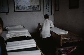 Jia Jiang Mill. Trimming sheets