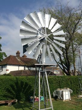 WInd engines, High Salvington Windmill, High Salvington, Sussex
