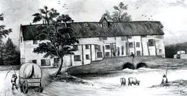 Copy of a drawing of an unidentified mill