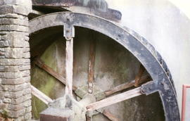 Bleadney Mill - waterwheel 12' diameter