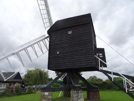 Post mill, Bourn
