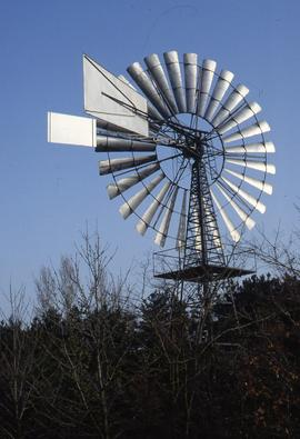 """Netherlands, Wind pump near Uden"""