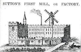 Unwin's Cotton Mill at Sutton in Ashfield