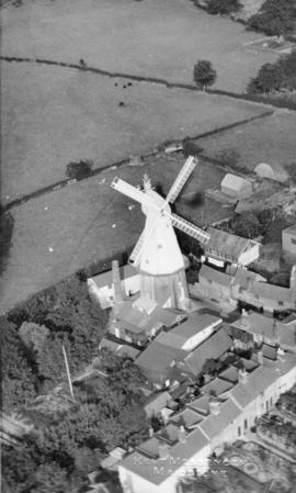 Cranbrook Mill, aerial view