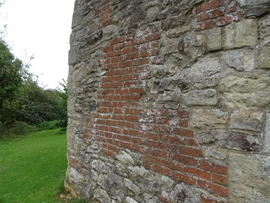 Section of tower wall, Littleworth Mill, Wheatley
