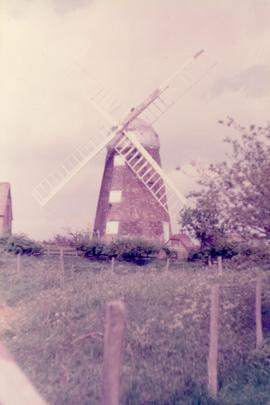 Exterior view, tower mill, Napton-on-the-Hill, Warwickshire