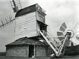 Drinkstone Post Mill, Suffolk