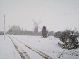 North Mill and Polkey's Mill, Reedham Marshes