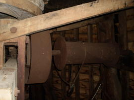 Sack hoist, Borstal Hill Mill, Whitstable