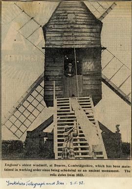 Oldest windmill preserved
