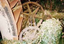 Roke Farm Wheel, Bere Regis, Dorset, control hatch