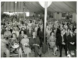 Audience in pavilion